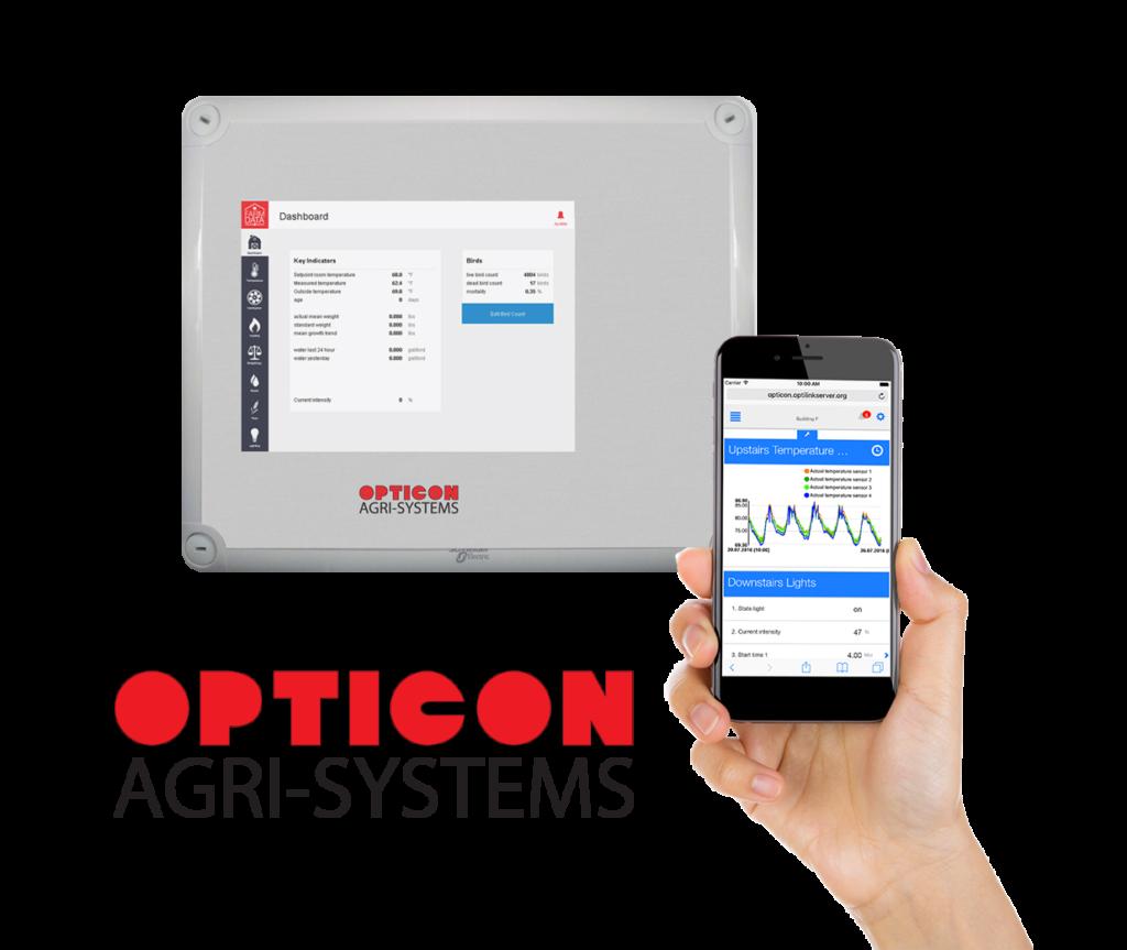 Opticon Farm Data software